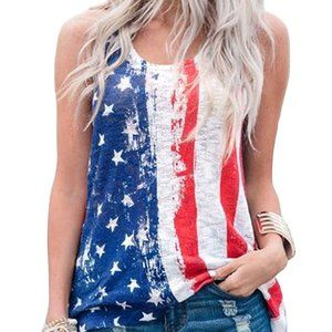 SALE!!!  STARS AND STRIPS I LOVE AMERICA TANK TOP